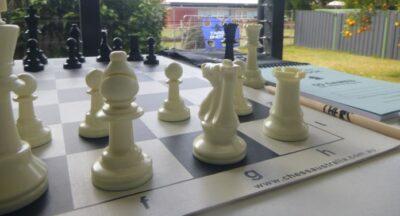 chess set - pieces