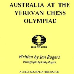 Australia at the Yerevan Chess Olympiad