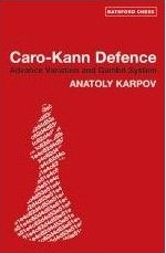 chess book Caro Kann Defence Advance Variation and Gambit Sys