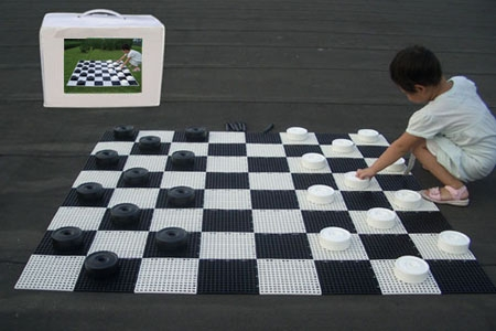 Small Giant Chess/Draughts Board