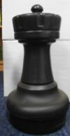 Large Giant Chess Rook Black