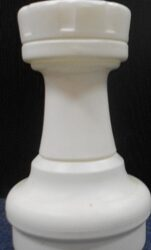 Large Giant Chess Rook White