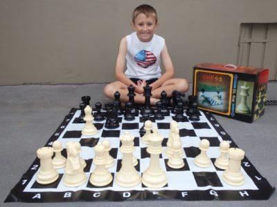 Garden Chess Set 20.6cm King