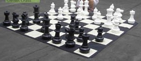 Small Giant Chess + Nylon Mat