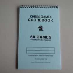 Chess Scorebook (50 games)