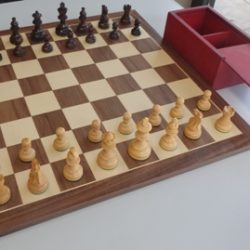 Wooden Pieces. Rosewood. king is 70mm or 2.75 inch