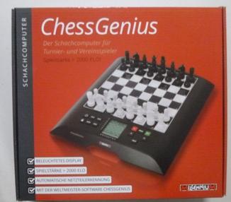 Chess computer box